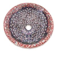 45 cm El Yapımı Seramik Lavabo