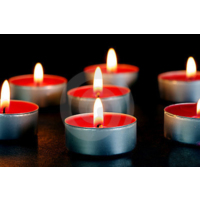 Happy Candle 50 adet Kırmızı Tea Light Mum mm20-50
