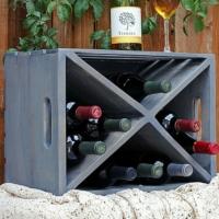 Kadir'in Atölyesi Yard Şaraplık Eskitilmiş Gri
