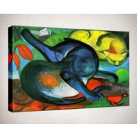 Kanvas Tablo - Soyut Modern Tablolar - Mts89