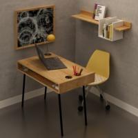 FLY Metal Ayaklı Çalışma Masası - FLY171005