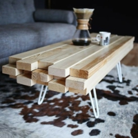 Kadir'in Atölyesi Timber Masif Orta Sehpa Koyu Ceviz