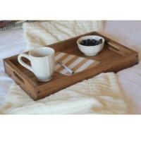 Kontula Masif Tepsi 45 x 30 Kona - Espresso