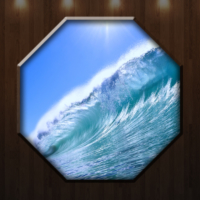K Dekorasyon 1047 Sekizgen Kanvas Tablo - 50X50 Cm