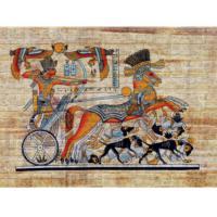 Vardek Resimli Taş Duvar Paneli Mısır Hiyeroglif