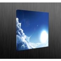 Duvar Tasarım DLC6001 Led Işıklı Kanvas Tablo - 35x35 cm