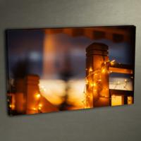Duvar Tasarım DLC 3014 Ledli Kanvas Tablo - 50x70 cm