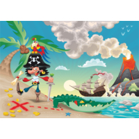 Duvar Tasarım DC 2391 Children Kanvas Tablo - 50x70 cm