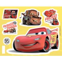 Fosforlu Duvar Sticker Cars 19 Cm Karanlıkta Parlar