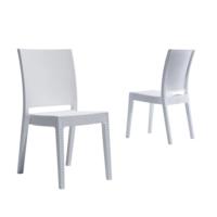 Novussi Garden Nice Rattan Sandalye- Beyaz