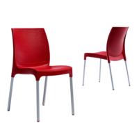 Novussi Contract Sunny Sandalye - Kırmızı