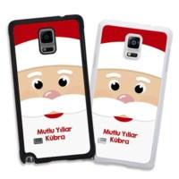 BuldumBuldum Noel Baba Telefon Kılıfları - Samsung Galaxy S5 Beyaz