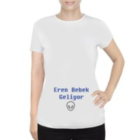 BuldumBuldum Uzaylı Hamile T-Shirt