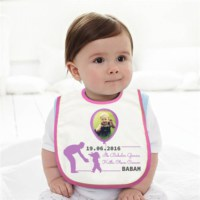 BuldumBuldum İlk Babalar Günü Balonlu Bebek Önlüğü - Erkek