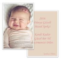 BuldumBuldum Bebekli Yeni Yıl Posta Kartı 4'lü Paket