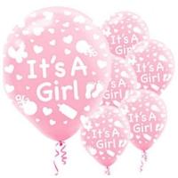 Parti Şöleni İt's A Girl Balon 20 Adet