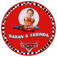 Parti Şöleni Kişiye Özel Cars Sticker