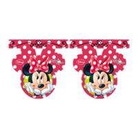 Parti Şöleni Minnie Mouse Fashion Bayrak 1 Adet