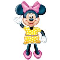Parti Şöleni Minnie Mouse Airwalker Folyo Balon 1 Adet