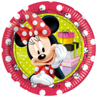 Parti Şöleni Minnie Mouse Fashion Tabak 8 Adet
