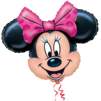 Parti Şöleni Minnie Mouse Minnie Maouse Folyo Balon