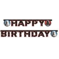 Parti Şöleni Star Wars Happy Birthday Yazı