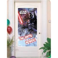 Parti Şöleni Star Wars Kapı Banner 1 Adet