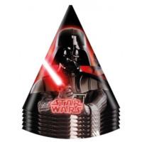 Parti Şöleni Star Wars Külah Şapka 6 Adet