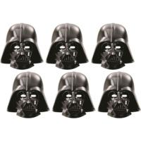 Parti Şöleni Star Wars Maske 6 Adet