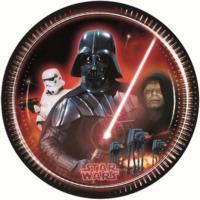 Parti Şöleni Star Wars Tabak 8 Adet