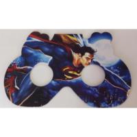 Parti Şöleni Superman Maske 6 Adet