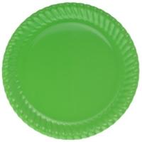 Parti Şöleni Yeşil Karton Tabak 8 Adet