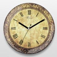 If Dizayn Roma Rakamlı Vintage Tasarım Duvar Saati