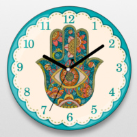 If Dizayn Fatman'nın Eli Tasarım Duvar Saati