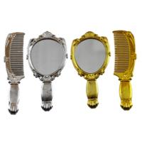 Tahtakale Toptancısı Ayna Ve Tarak Seti Altın / Gümüş (10 Takım)