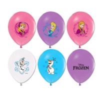 Tahtakale Toptancısı Balon 4+1 Frozen Baskılı Pastel Renk (20 Adet)