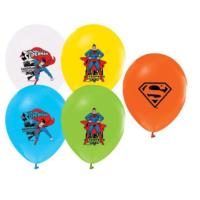 Tahtakale Toptancısı Balon 4+1 Superman Baskılı Pastal Renk (20 Adet)