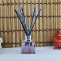 Tahtakale Toptancısı Bambu Rattan Koku Çubuk Renkli (Bambu Çubuk) 20 CM (50 Adet)