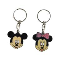 Tahtakale Toptancısı Bebek Anahtarlığı Metal Mickey ve Minnie (10 Adet)