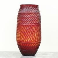 Vazo Uzun Kırmızı