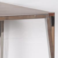 Dizayn Krom Ayak Yemek Masası 200X110 Cm