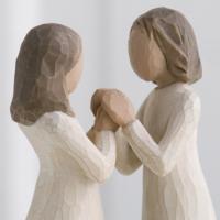 Sisters By Heart (Kalpten Kız Kardeşler) Biblo 13 Cm
