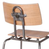 Metal Sandalye Naturel Renk 42X81 Cm