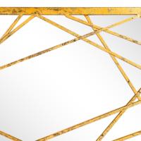Ahşap Çerçeveli Dikdörtgen Ayna 57X97 Cm