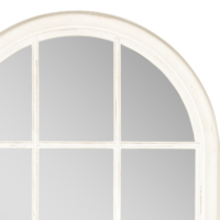 Pencere Ayna Beyaz 80X136 Cm