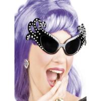 Tvs Dame Edna Gözlüğü 50 li Yıllar Gözlük Siyah Renk