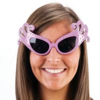 Tvs Dame Edna Gözlüğü 50 li Yıllar Gözlük Pembe Renk