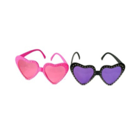 Tvs Taşlı Kalp Parti Gözlüğü
