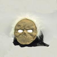Tvs Beyaz Saçlı Mumya Maskesi