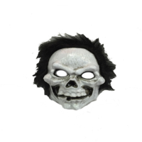 Tvs Saçlı Kurukafa Korku Maskesi Plastik